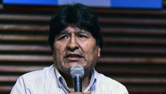 El Tribunal Electoral de Bolivia inhabilitó a Evo Morales para presentarse como candidato a senador. (Foto: AFP).