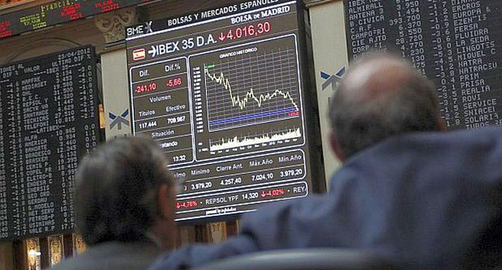 Mercados bursátiles de Europa cierran sesión con ganancias