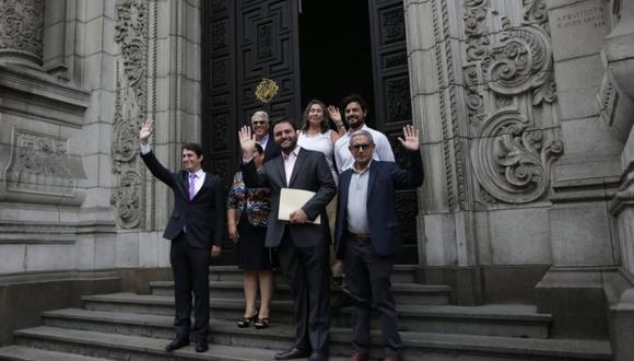 El documento enviado por la bancada del Partido Morado precisa que la reconsideración es posible pese a que se haya dispensado la aprobación del acta, ya que el acuerdo adoptado no ha sido ejecutado. (Foto: GEC)