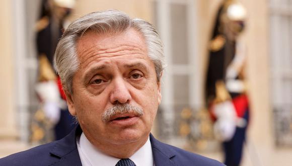 Alberto Fernández pidió en todo momento en que se respetara el resultado de la segunda vuelta presidencial del pasado 6 de junio. Foto: archivo AFP/ Ludovic MARIN