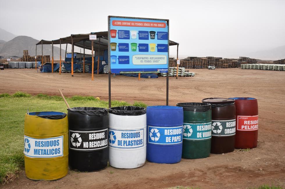"""A través de su Planta de Incubación Chancay, San Fernando viene ejecutando el """"Programa de Segregación en la Fuente y Recolección Selectiva de Residuos Sólidos"""" en trabajo conjunto con el Ministerio del Ambiente (Minam) y la Municipalidad de Chancay."""