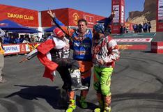 Dakar 2020: Así fue la emotiva llegada de los motociclistas peruanos a la meta   VIDEOS