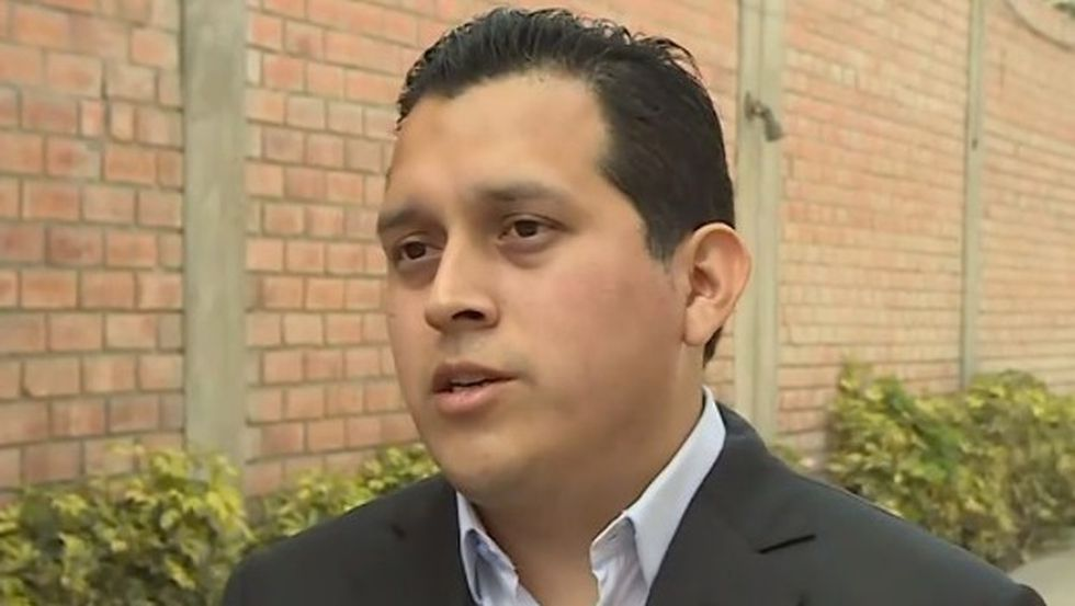 José Luis Luna Morales, hijo de José Luna Gálvez y gerente general de las universidades Ciencias de la Salud y Telesup, ambas con licencias denegadas. (Photo: Canal N)