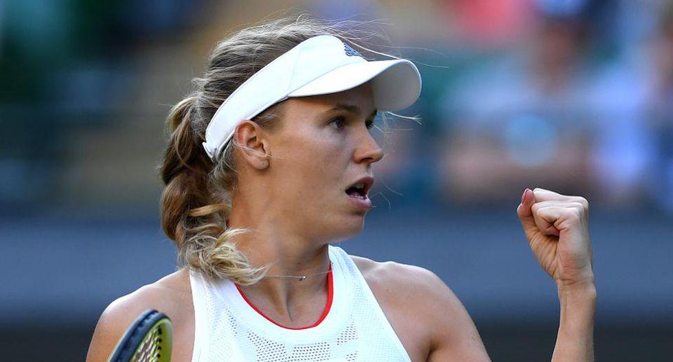 En la quinta casilla está Caroline Wozniacki, tenista danesa que el año pasado embolsó US$7,5 millones. (Foto: Getty Images)