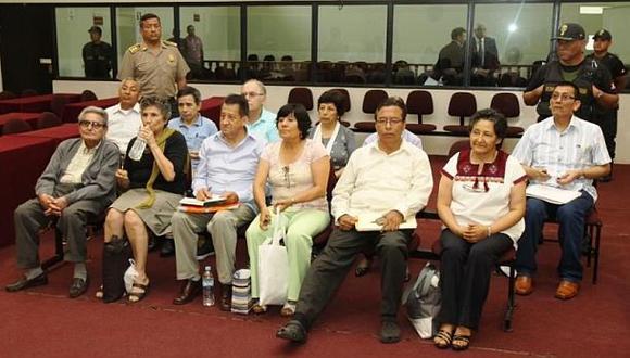 Respaldan pedido de cadena perpetua para cúpula senderista