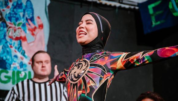 Nor 'Phoenix' Diana se ha sabido ganar una posición en el mundo de la lucha libre en Malasia. (Foto: Twitter | @nordianapw)