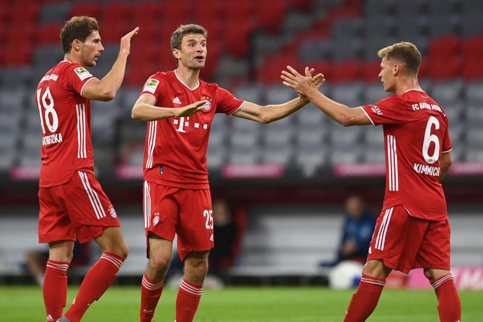 Bayern Múnich venció al Schalke 04 por la Bundesliga