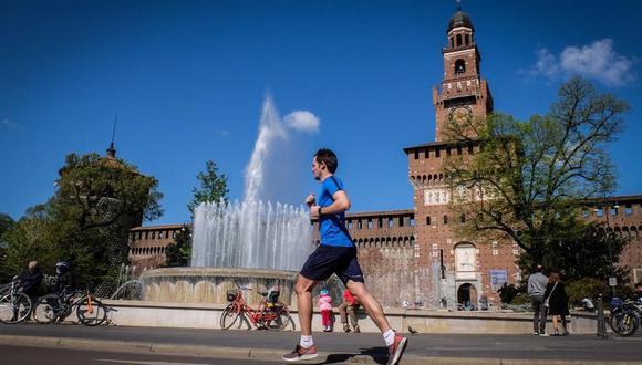 Coronavirus en Italia | Últimas noticias | Último minuto: reporte de infectados y muertos hoy, martes 20 de abril del 2021 | COVID-19 |  (Foto:  EFE/Matteo Corner/).