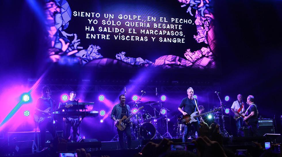 Huevos Revueltos, la gira que reúne a Los Enanitos Verdes y Los Hombres G, inició en Lima. (Fotos: Difusión)