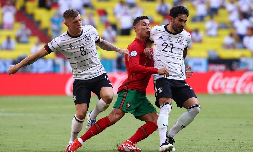 Portugal vs. Alemania: las imágenes del partido en Múnich   Foto: REUTERS