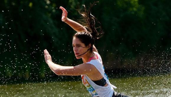 Natalia Cuglievan se consagró subcampeona mundial en Malasia. (Foto: Cortesía familia Cuglievan)