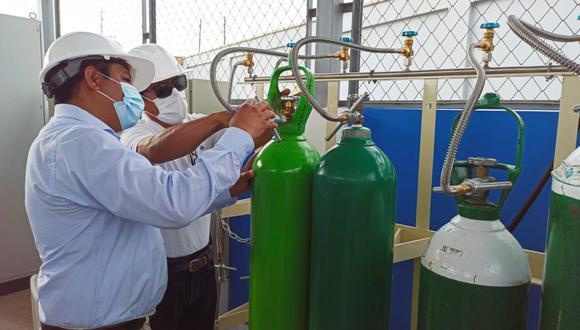 Esta planta también abastecerá a otros centros de salud y a la planta generadora de oxígeno ubicada en el Estadio Centenario. (Foto: Gore Áncash)