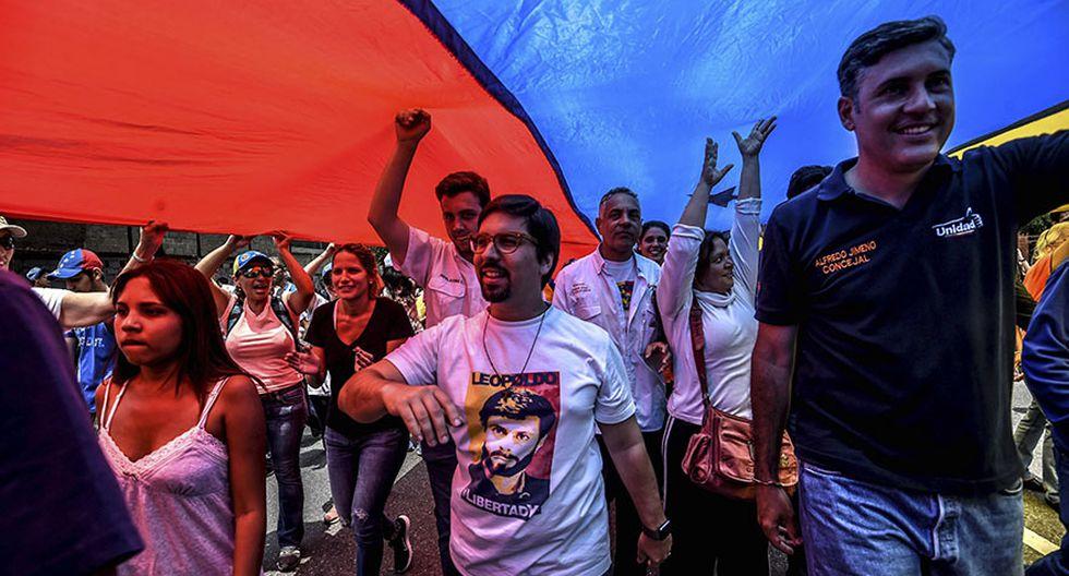 """Venezuela: El """"plantón"""" en protesta contra Nicolás Maduro - 17"""