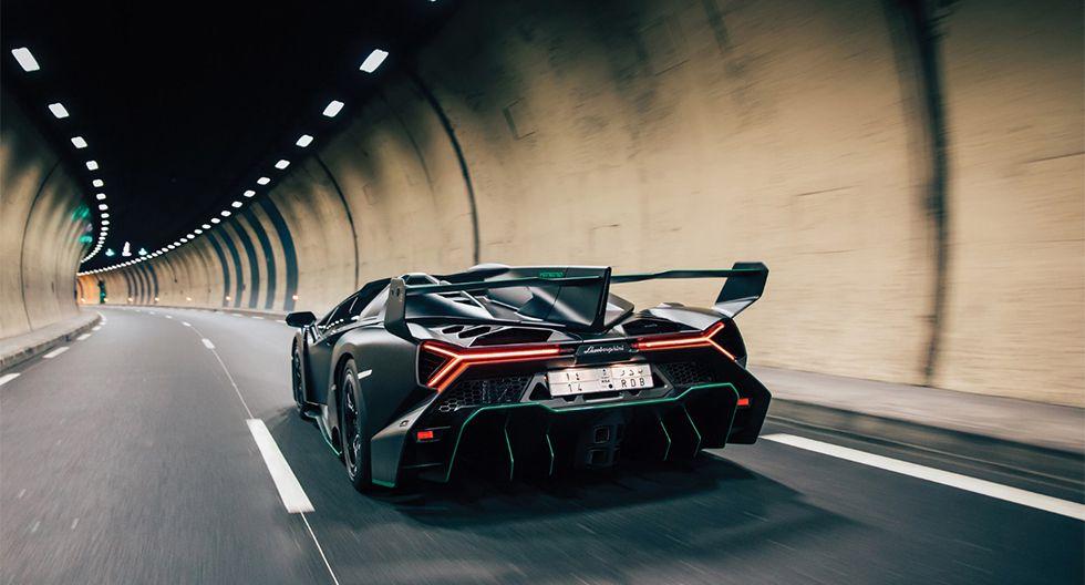Solo se fabricaron nueve unidades del Lamborghini Veneno Roadster y uno saldrá a subasta en febrero próximo, en París. (Foto: RM Sotheby's)