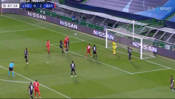 Bayern Múnich vs. Lyon: Robert Lewandowski sentenció el marcador con el 3-0 final | VIDEO