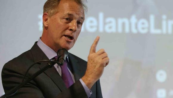 El alcalde de Lima, Jorge Muñoz, comentó sobre la aplicación del plan 'pico y placa'. (Foto: GEC)