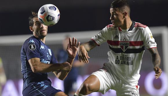 Racing vs. Sao Paulo EN VIVO vía ESPN 2 por la Copa Libertadores 2021   Foto: AP