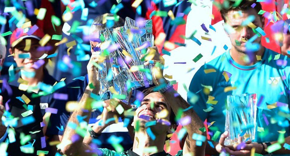 Federer se consagró otra vez en Indian Wells: fotos de la final - 15