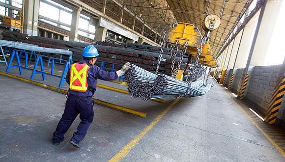Producción nacional de acero se incrementará 7,6% este año