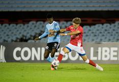 Sporting Cristal empató 0-0 con Rentistas y sigue último en el Grupo E de la Copa Libertadores 2021