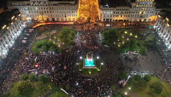 El ministro José Elice señaló que más de 3.000 agentes fueron desplegados en Lima. (Foto: GEC)