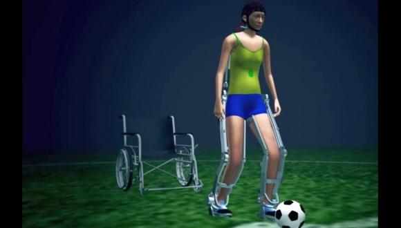 Exoesqueleto controlado con el cerebro debutará en el Mundial