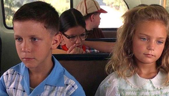 Hanna Hall y Michael Conner Humphreys , los pequeños que interpretaron a Forrest y Jenny de niños (Fotos: Paramount Pictures)
