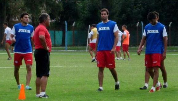 Gambetta fue titular en amistoso de Argentinos Juniors