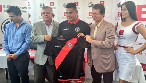 Deportivo Municipal: Diego Mayora fue presentado por el club