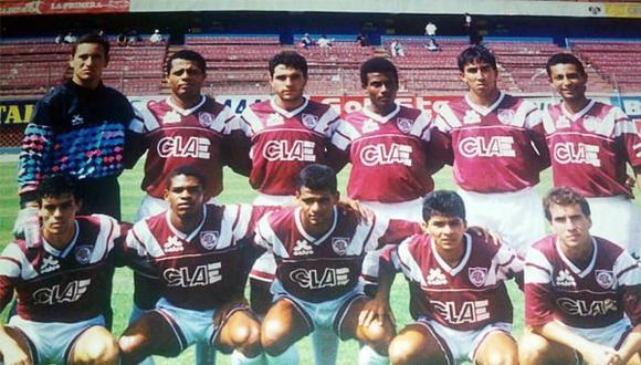 Defensor Lima de 1993. (Foto: Facebook Los Tigres Defensor Lima)