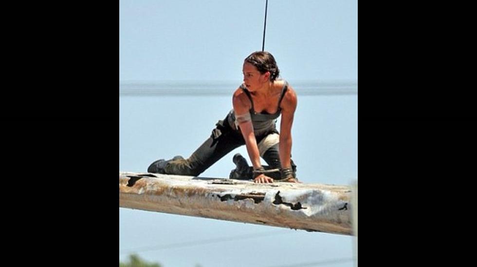 Alicia Vikander es retratada como Lara Croft por primera vez - 4