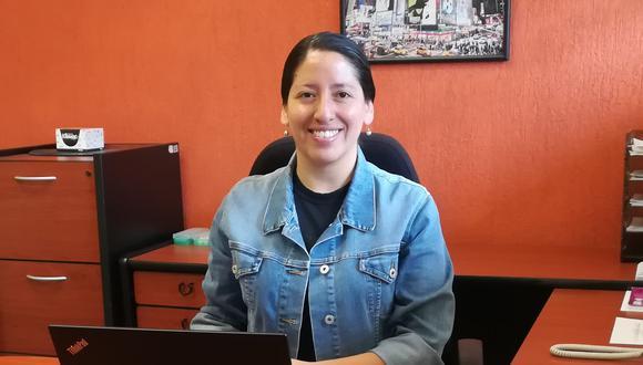 Milagros Zeballos estudió en la PUCP, luego en Londres y ahora labora en México. (Foto: Cortesía)