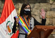 """Romi Infantas jura como alcaldesa de Cusco: """"Tengo las manos limpias y así las tendré siempre"""""""