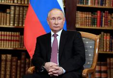 """Putin dice que ve """"destellos"""" de luz tras la cumbre con Biden, pero sin hacerse ilusiones"""