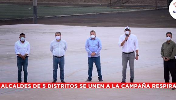 La recarga de oxígeno será gratuita. (Foto: Carlomagno Chacón/Facebook)
