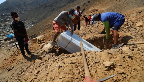 Cifras de decesos y contagios por COVID-19 en Perú sigue en aumento. (Foto: Archivo GEC)