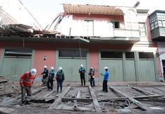 Balcón derrumbado: Municipalidad de Lima evalúa declarar inhabitable el inmueble de jirón Carabaya