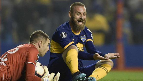 Daniele De Rossi habló sobre su retiro del fútbol y olvidó a Boca Juniors. (Foto: AFP)
