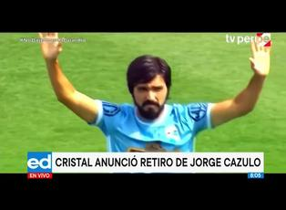 Sporting Cristal anunció el retiro de Jorge Cazulo