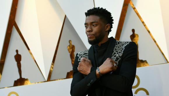 """""""Black Panther"""", película protagonizada por Chadwick Boseman, cambió la historia de los superhéroes en la pantalla grande. (Foto: Valerie Macon / AFP)"""