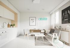 Este departamento de 20m2 muestra la belleza de vivir un espacio pequeño | FOTOS