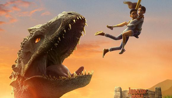 """""""Jurassic World: Campamento Cretácico"""", miniserie animada de ocho episodios, se estrena este viernes 18 de setiembre en Netflix. Foto: Netflix."""