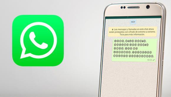 ¿Quieres tener la nueva fuente o letra de WhatsApp? Este es el sensacional truco que muy pocos conocen. (Foto: WhatsApp)