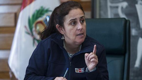 La ministra Patricia García indicó que habrá un mejor presupuesto para su sector. (Foto: El Comercio)