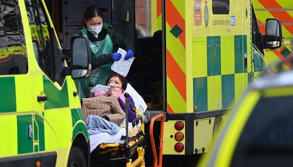 Coronavirus en Reino Unido | Últimas noticias | Último minuto: reporte de infectados y muertos hoy, miércoles 6 de enero del 2021. (Foto: EFE)