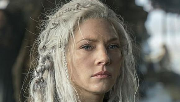 "Katheryn Winnick interpretó a Lagertha casi hasta el final de ""Vikings"" (Foto: History Channel)"