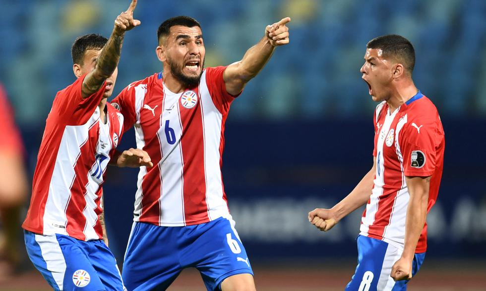 Paraguay venció a Bolivia 3-1 por Copa América 2021 Foto: AFP