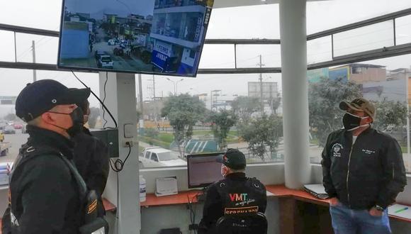 La comuna busca bajar la incidencia de robos en su jurisdicción con estas centrales de monitoreo. (Foto: Municipalidad de Villa María del Triunfo)