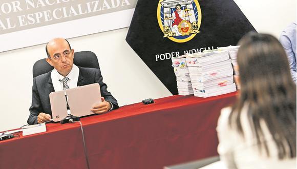 El juez Víctor Zúñiga está a cargo del caso Fuerza Popular desde 2019. (Foto: Piko Tamashiro)