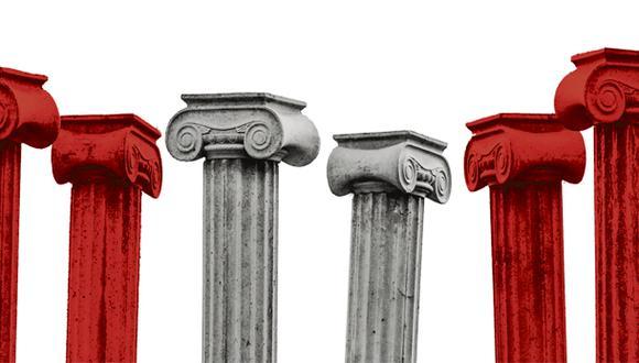 """""""Algunas instituciones están trabadas o descompuestas, pero otras tienen capacidad de generar su propia reforma y contribuir a la reforma de otras"""" (Ilustración: Giovanni Tazza)."""